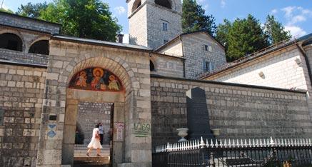 Central region of Montenegro Cetinje Monastery