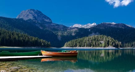 Durmitor national park Black lake Montenegro