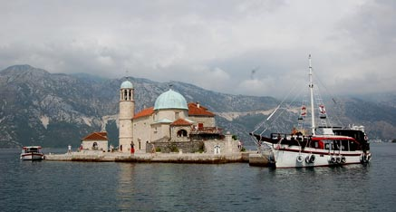 Excursions Island our Lady of the Rock Perast