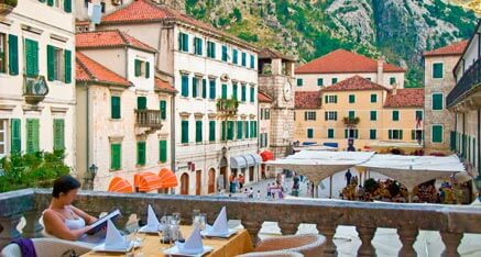 Beautiful Coast of Montenegro Kotor Old Town