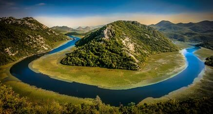 Montenegro National park lake Skadar